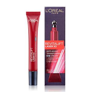 อายครีม L-Oreal-Paris-Revitalift-Laser-X3-Anti-Aging-Transforming-Eye-Cream