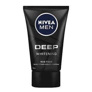 โฟมล้างหน้าผู้ชาย NIVEA-Men-Deep-Whitening-Mud-Foam