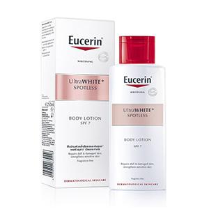 โลชั่นผิวขาว Eucerin-UltraWHITE-Spotless-Body-Lotion-SPF7