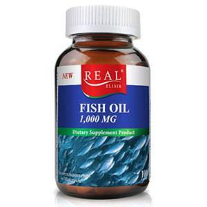 อาหารเสริมบํารุงสมอง Real-Elixir-FISH-OIL