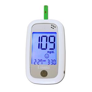 เครื่องตรวจน้ำตาลในเลือดLumina OK Meter SET COMBO