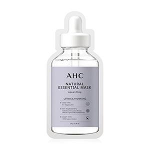 แผ่นมาส์กหน้าAHC Natural Essential Mask Aqua Lifting