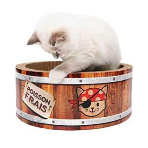 ชองเล่นลูกแมว Catit-Play-Pirates-Barrel