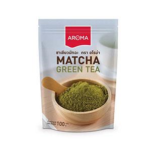 ชาเขียวมัทฉะ Aroma ชาเขียวมัทฉะ