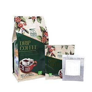 เมล็ดกาแฟ PhouphiengDrip Coffee 100% Premium Arabica