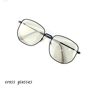 แว่นกรองแสงสีฟ้า cross glasses