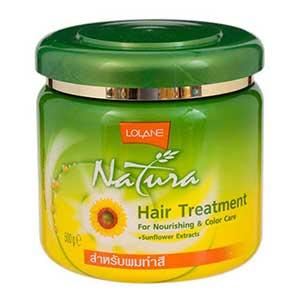 ครีมนวดผม Lolane Natura Hair Treatment For Nourish & Color Care