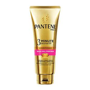 ครีมนวดผม PANTENE-Pro V3 Minute Miracle Conditioner Hair Fall Control