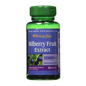 วิตามินบำรุงสายตา Puritan's Pride Bilberry Extract