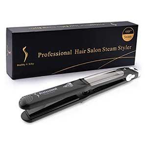 เครื่องหนีบผม Professional Steam Hair Straightener