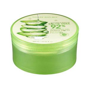 เจลว่านหางจระเข้ Nature Republic-Soothing-&-Moisture-Aloe-Vera-92%-Soothing-Gel