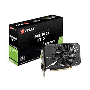 การ์ดจอ MSI VGA GeForce GTX-1660 Ti AERO ITX