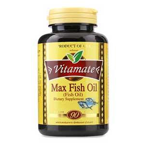 น้ำมันปลา Vitamate Fish Oil