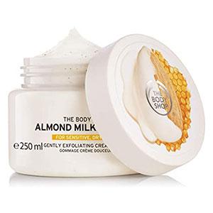 สครับขัดผิว The Body Shop Almond Milk