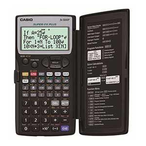 เครื่องคิดเลขวิทยาศาสตร์ Casio fx-5800P