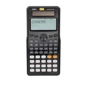 เครื่องคิดเลขวิทยาศาสตร์ Deli D82ES