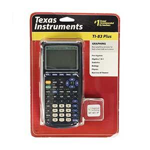 เครื่องคิดเลขวิทยาศาสตร์ Texas Instruments TI 83 Plus