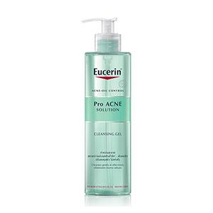 โฟมล้างหน้า Eucerin Pro Acne Solution Cleansing Gel