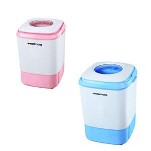 SMARTHOME-เครื่องซักผ้ามินิกึ่งอัตโนมัติ-