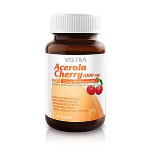 วิตามินซี VISTRA Acerola Cherry 1000 mg