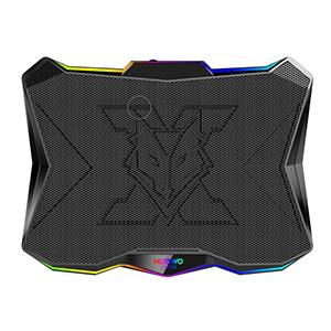 พัดลมโน๊ตบุ๊ค Nubwo SUBZERO NX F1 RGB