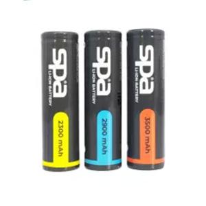 ถ่านชาร์จ SPA Battery Li-ion NCR 18650 3.7V