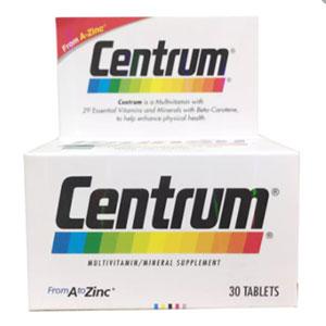 CENTRUM วิตามินและแร่ธาตุ บำรุงร่างกาย