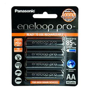 ถ่านชาร์จ Panasonic Eneloop Pro 2,550 mAh