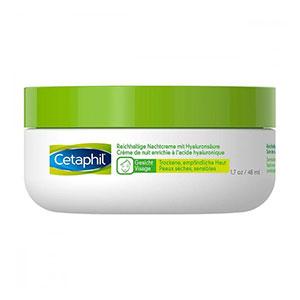 ไนท์ครัมสำหรับผู้ชาย Cetaphil Rich Night Cream Hyaluronic Acid