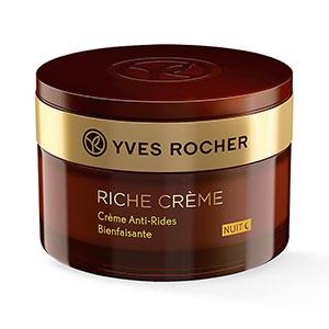 ไนท์ครีมสำหรับผู้ชาย Yves Rocher Riche Creme Comforting Anti Wrinkle Night Cream 50 ml