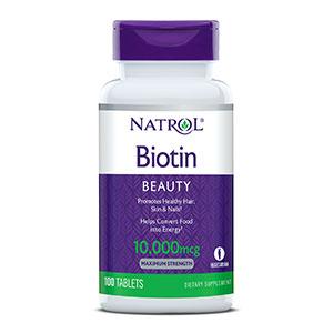 ไบโอติน Natrol Biotin 10,000 mcg