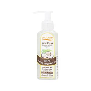 น้ำมันมะพร้าว P.O. CARE Virgin Coconut Oil 100ml.