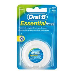 ไหมขัดฟัน Oral-B Mint Waxed Essential Dental Floss 50M