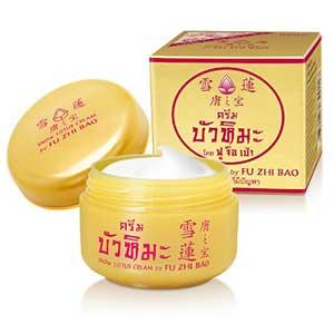 Fu-Zhi-Bao-Snow-Lotus-Cream-15g-ครีมบัวหิมะ