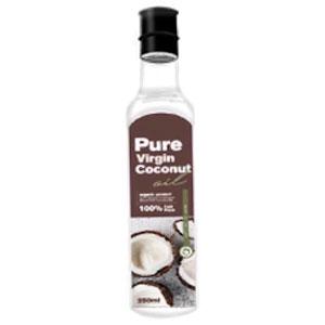 น้ำมันมะพร้าวสกัดเย็น Pure virgin coconut oil
