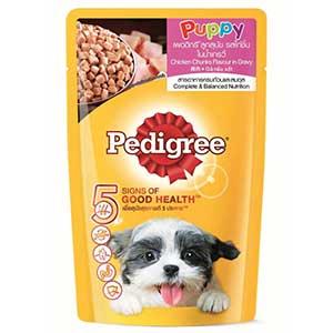 อาหารสุนัข PEDIGREE DOG FOOD-WET-POUCH-PUPPY