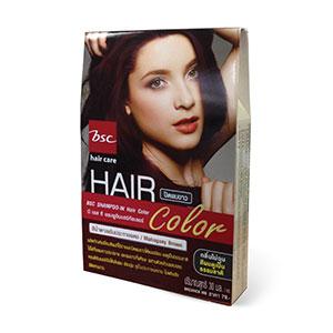 แชมพูปิดผมขาว BSC hair care SHAMPOO IN HAIR COLOR